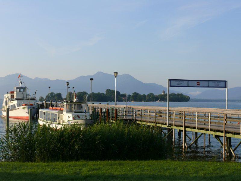 Schifffahrtsanlegestelle Gstadt